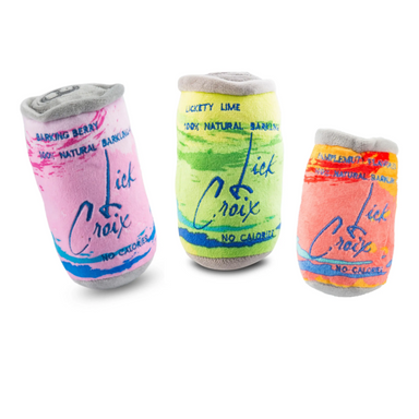 La Croix  Sparkling Water Dog Toy Set on Design Life Kids