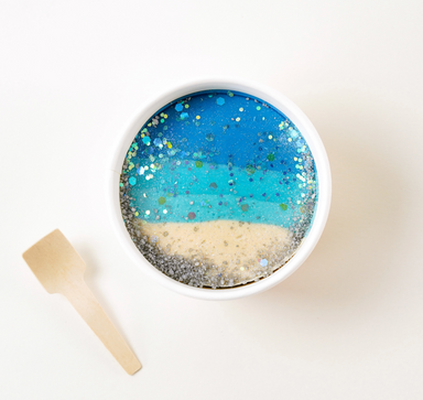 All Natural Glitter Dough Cup
