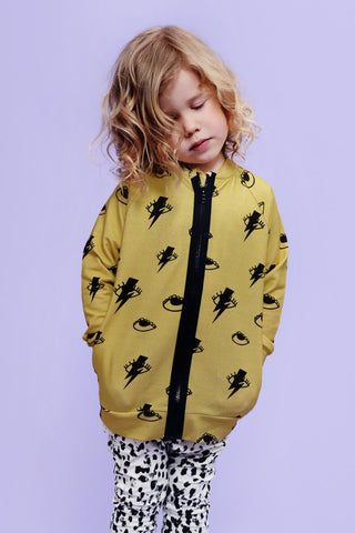 Little Man Happy Bowie Jacket on DLK | designlifekids.com