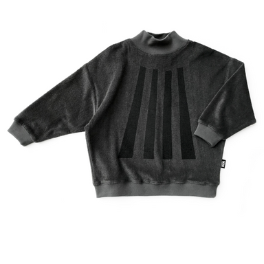 Little Man Happy Beams High Collar Sweater on Design Life Kids