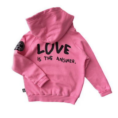 Little Man Happy Love Hoodie on Design Life Kids