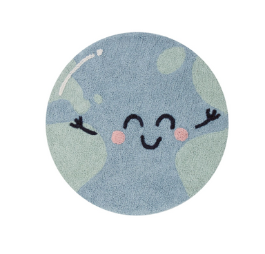 Lorena Canals Big Big World Map Rug on Design Life Kids