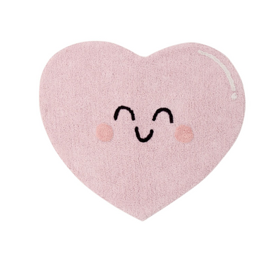 Lorena Canals Happy Face Rug on Design Life Kids
