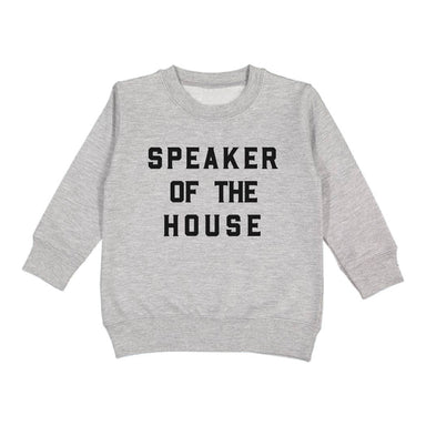 Love Bubby Speaker of the House Sweatshirt on Design Life Kids