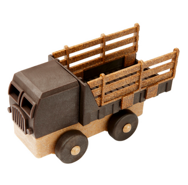 Luke's Toy Factory All Natural Toy Stake Truck on Design Life Kids