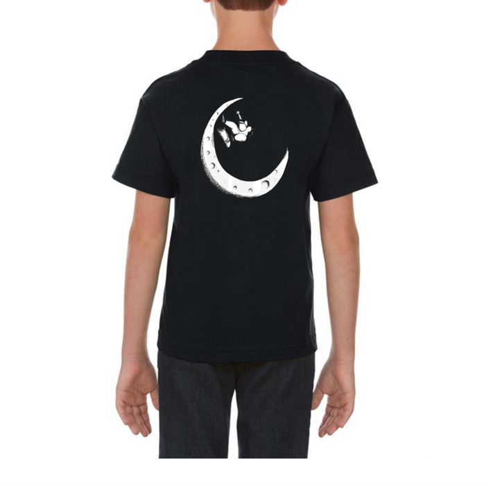Henry Jones Skateboard Moon Half Pipe Shirt on Design Life Kids