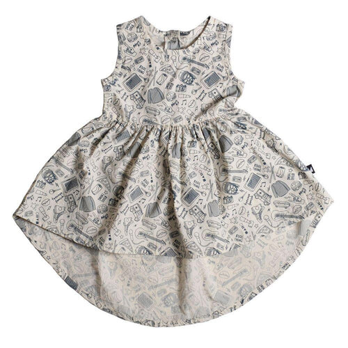 Anarkid Mosh Pit Sleeveless Dress on DLK | designlifekids.com