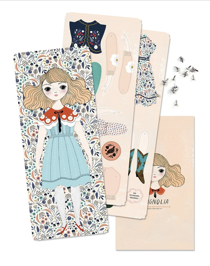 Of Unusual Kind Paper Doll Kits on DLK | designlifekids.com