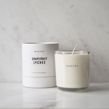 Makana Grapefruit Lychee Soy Candle on Design Life Kids