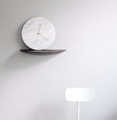 Menu Norm Architects White Marble Clock on DLK