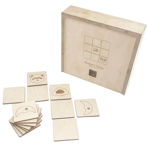 Loullou Wooden Memory Game on DLK | designlifekids.com