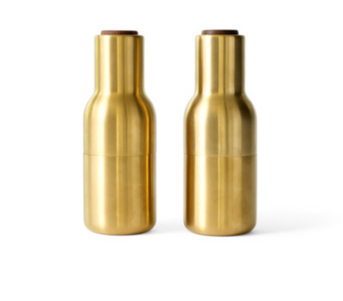 Menu Bronze Salt and Pepper Grinders on Design Life Kids