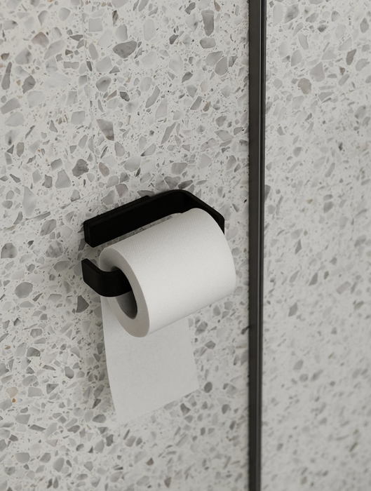 Menu World Black Toilet Paper Holder on Design Life Kids