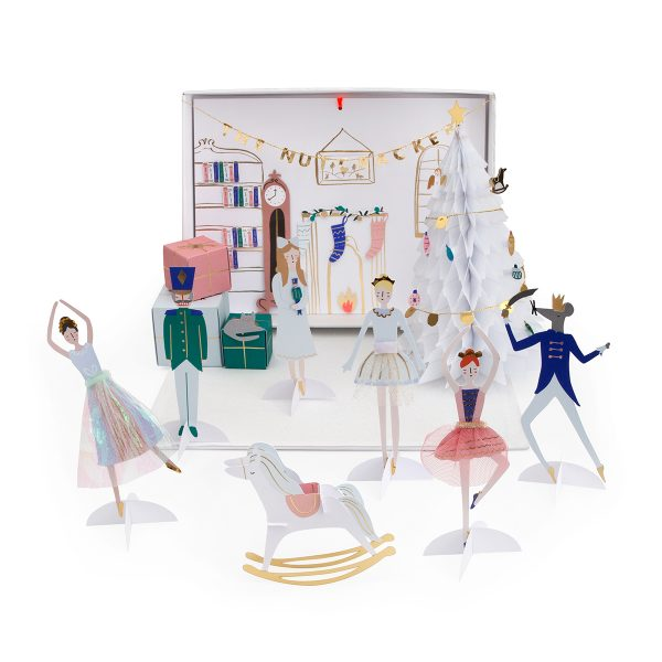 Meri Meri Nutcracker Advent Calendar on Design Life Kids