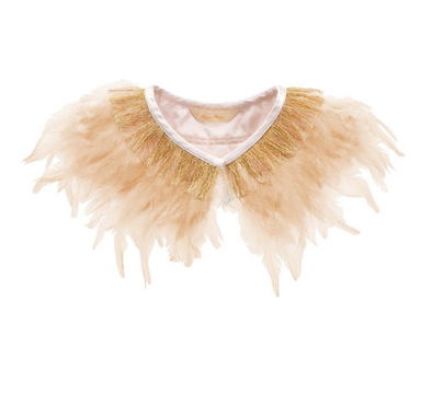 Meri Meri Feather Capelet on Design Life Kids
