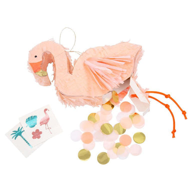 Flamingo Piñata Party Favor