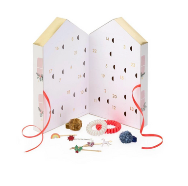 Meri Meri Hair Accessories Advent Calendar on Design Life Kids