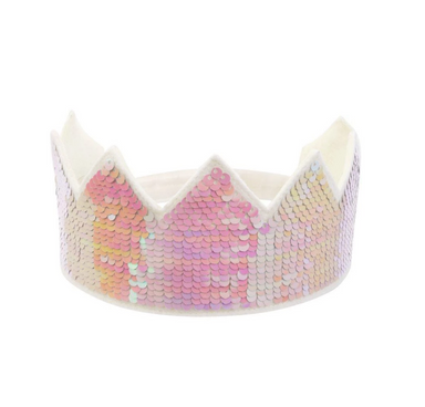Reverse Sequin Crown