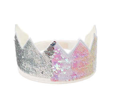 Meri Meri Iridescent Reverse Party Crown on Design Life Kids