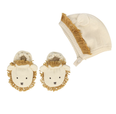 Meri Meri Lion Hat and Shoe Set on Design Life Kids