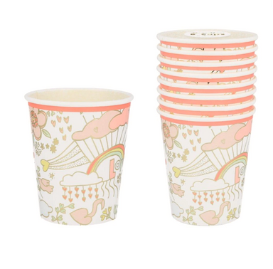 Meri Meri Valentine Doodle Party Cups on Design Life Kids