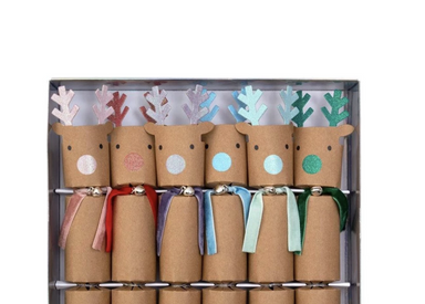 Meri Meri Reindeer Party Crackers on Design Life Kids