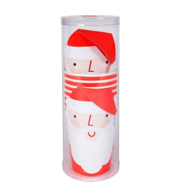 Meri Meri Santa Party Cups on Design Life Kids
