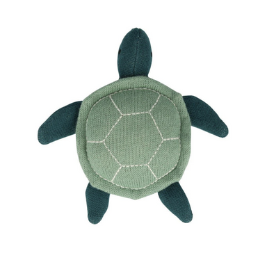 Meri Meri Baby Sea Turtle Rattle on Design Life Kids