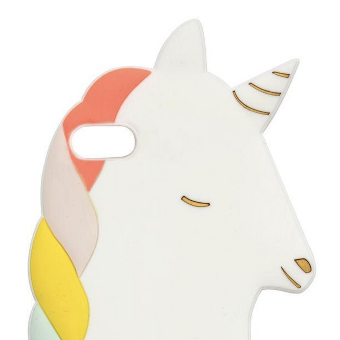 Meri Meri Unicorn iPhone Silicone Case on DLK | designlifekids.com