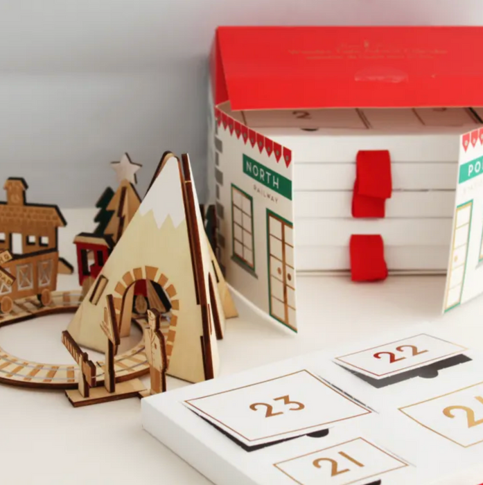 Wooden Railway Advent Calendar