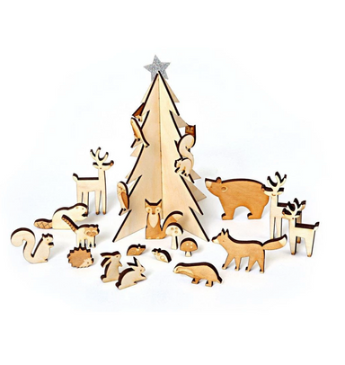 Meri Meri Woodland Advent Calendar on Design Life Kids