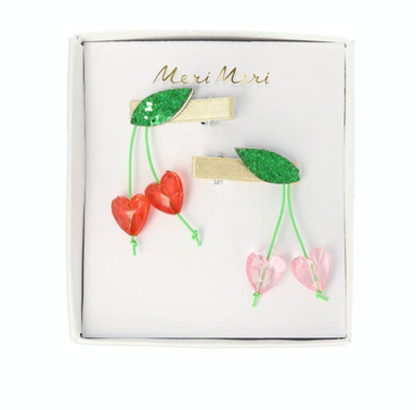 MeriMeri Cherry Bead Hair Clip at Design Life Kids