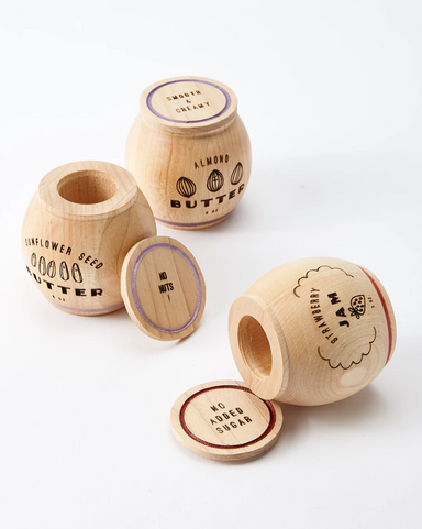 Milton and Goose Wooden Play Food Set on Design Life Kids