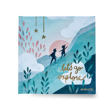 Mimochai Let's Go Explore Hardcover Picture Book Design Life Kids