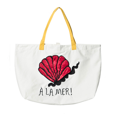 Mini Rodini A La Mer Beach Bag on Design Life Kids