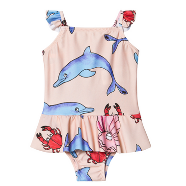 Mini Rodini Dolphins Swimsuit on Design Life Kids