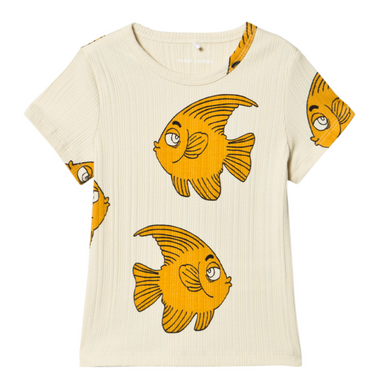 MIni Rodini Fish Tee Shirt on Design Life Kids