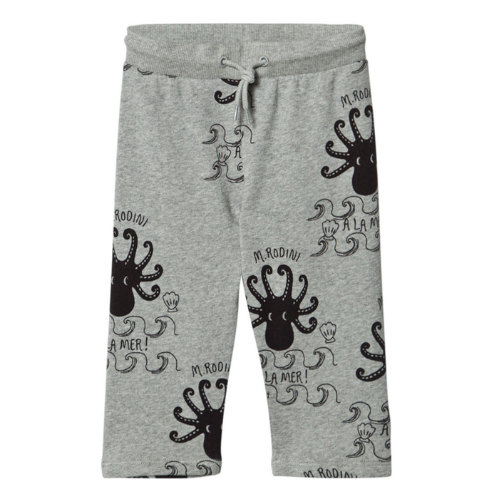 Mini Rodini Octopus Sweatpants on Design Life Kids