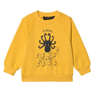 Mini Rodini Octopus Sweatshirt on Design Life Kids