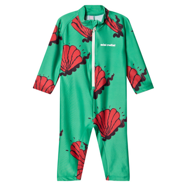 Mini Rodini Shells UV Suit Rash Guard on Design Life Kids