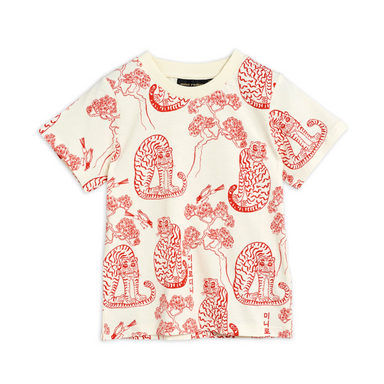 Mini Rodini Tiger Tee on  Design Life Kids