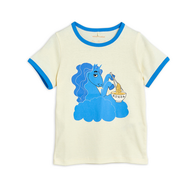 Mini Rodini Unicorn Noodles Tee on Design Life Kids