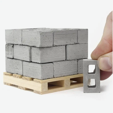 Mini Materials Mini Cinderblocks on Design Life Kids