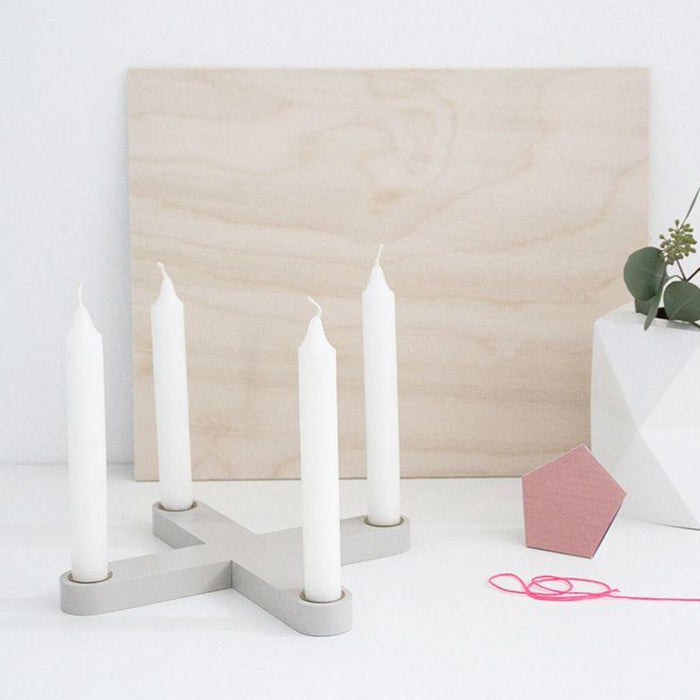 Snug Studio CROSS CANDLEHOLDER ON DLK