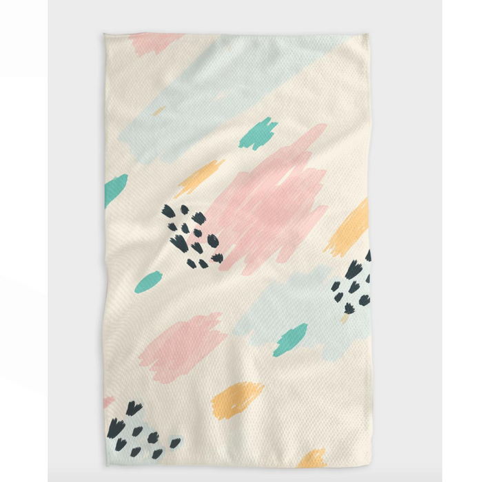 Geometry Candy Tea Towel at Design Life Kids