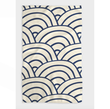 Geometry Every Level Tea Towel at Design Life Kids