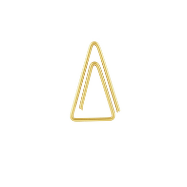 Monograph Triangle Paper Clips on Design Life Kids