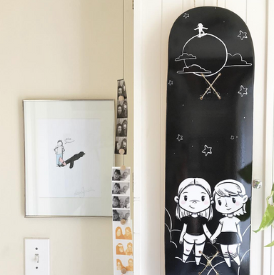 Moon Skateboard on DLK