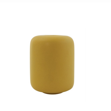 Mustard Yellow Bud Vase on Design Life Kids