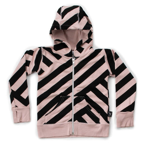 Nununu Striped Zip Hoodie on DLK | designlifekids.com